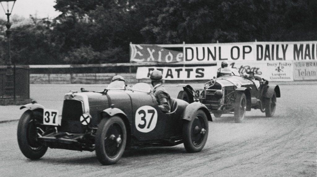 Irish Grand Prix, image dated 1930. Aston Martin