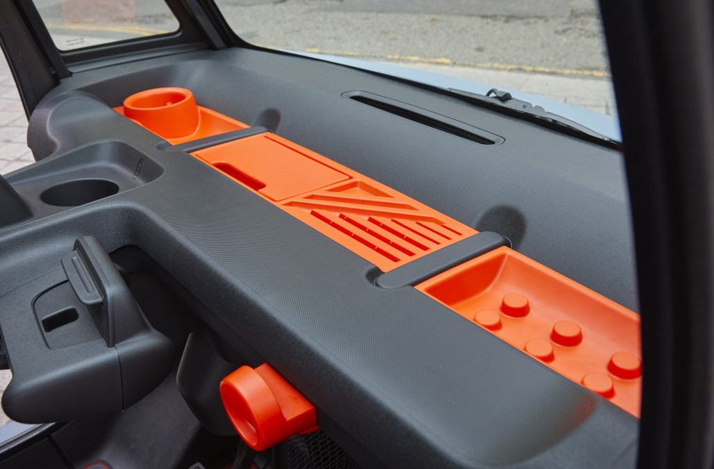 Citroen Ami interior and dashboard_review_Hagerty