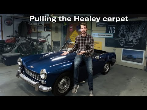Stripping the carpet: Austin-Healey Sprite project car
