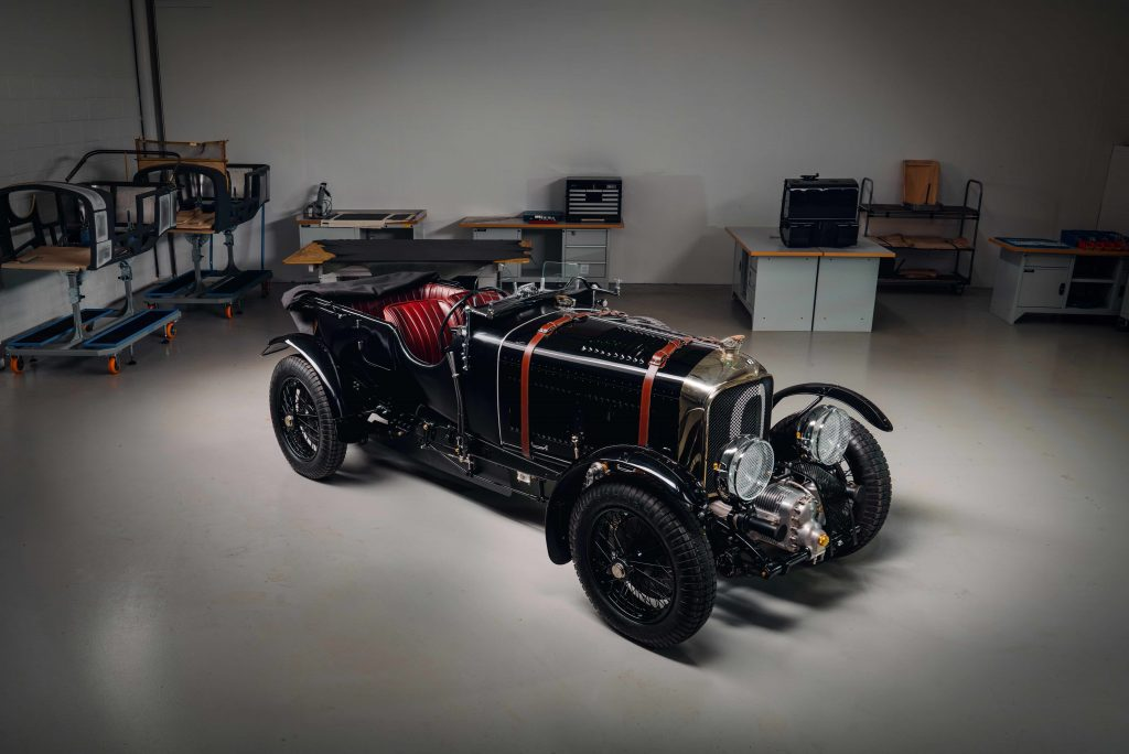 After 40,000 hours, the first 1929 Bentley Blower continuation car is built