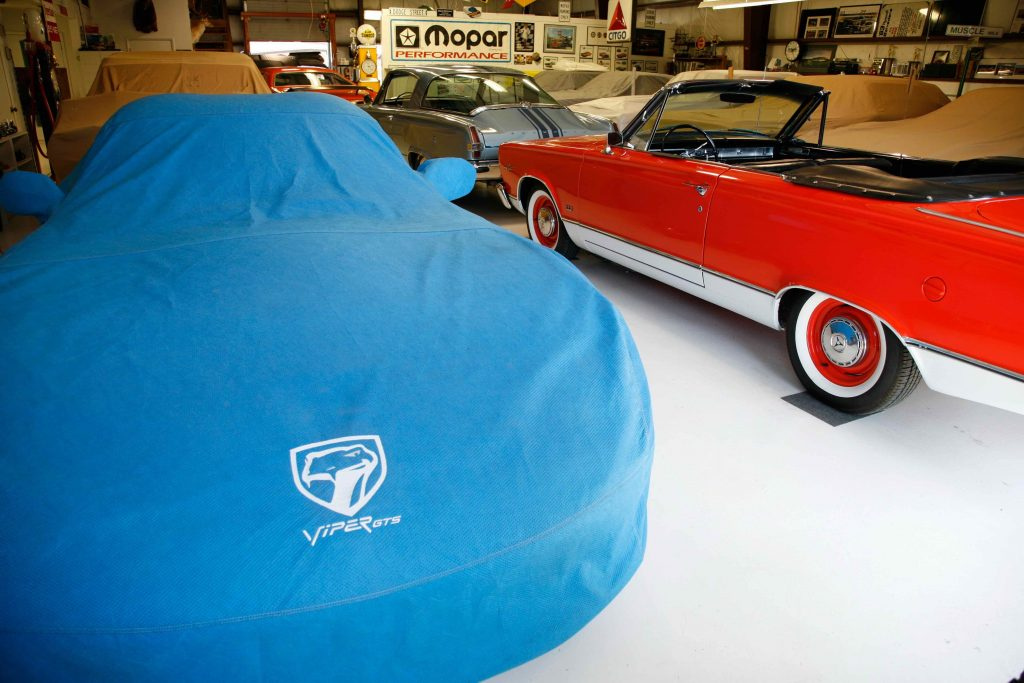 Car covers for when storing your car over winter