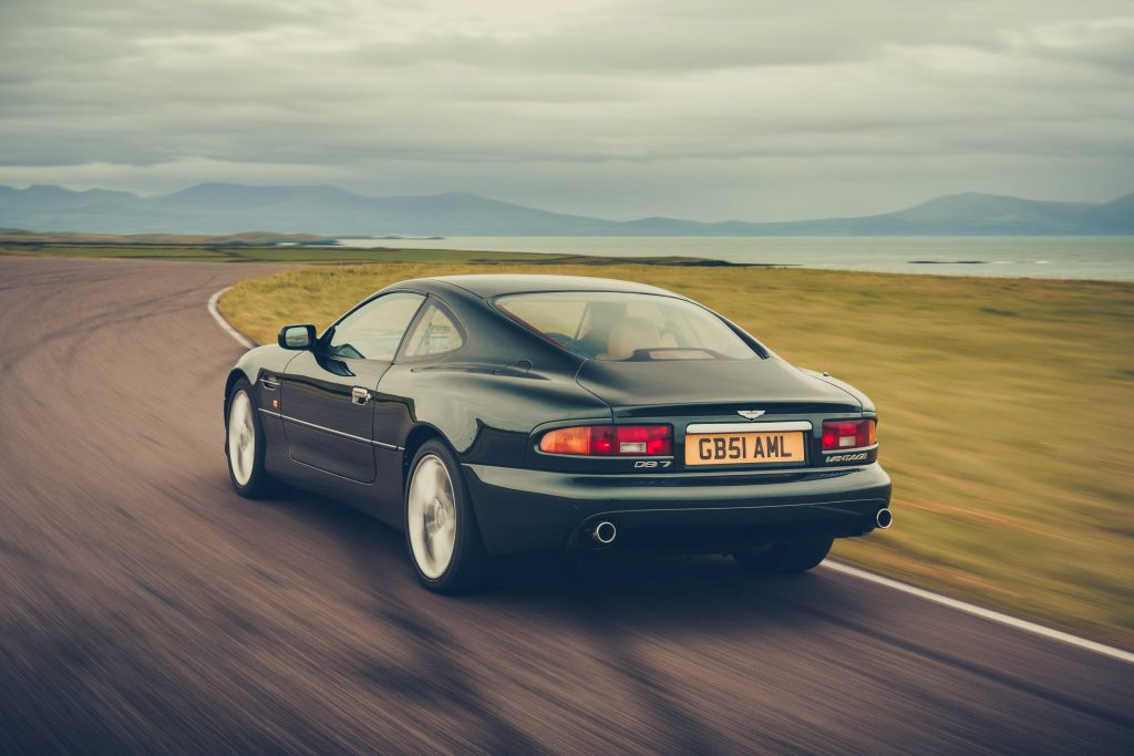 1994 – 2004 Aston Martin DB7_Hagerty UK 2021 Bull Market list