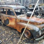 The Volvo Duett that was rescued from wildfire hell