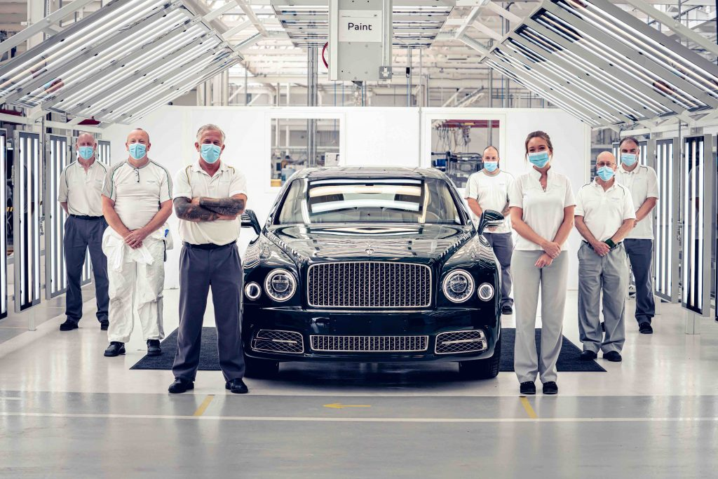 Farewell to the Bentley Mulsanne and its V8