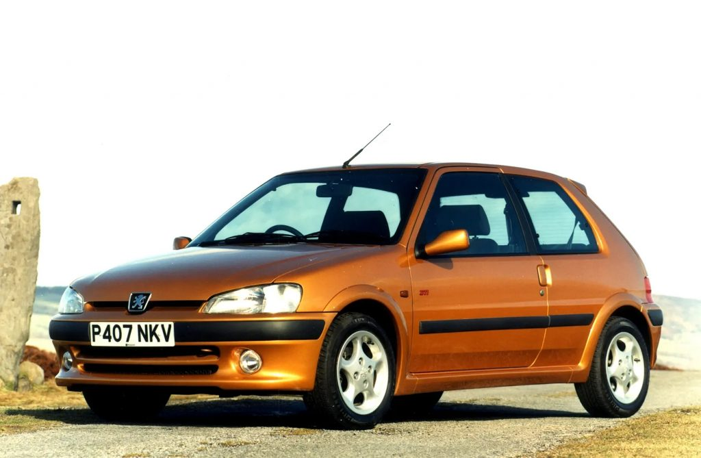 Peugeot 106 GTI is now a modern-classic_Citroen Saxo rare