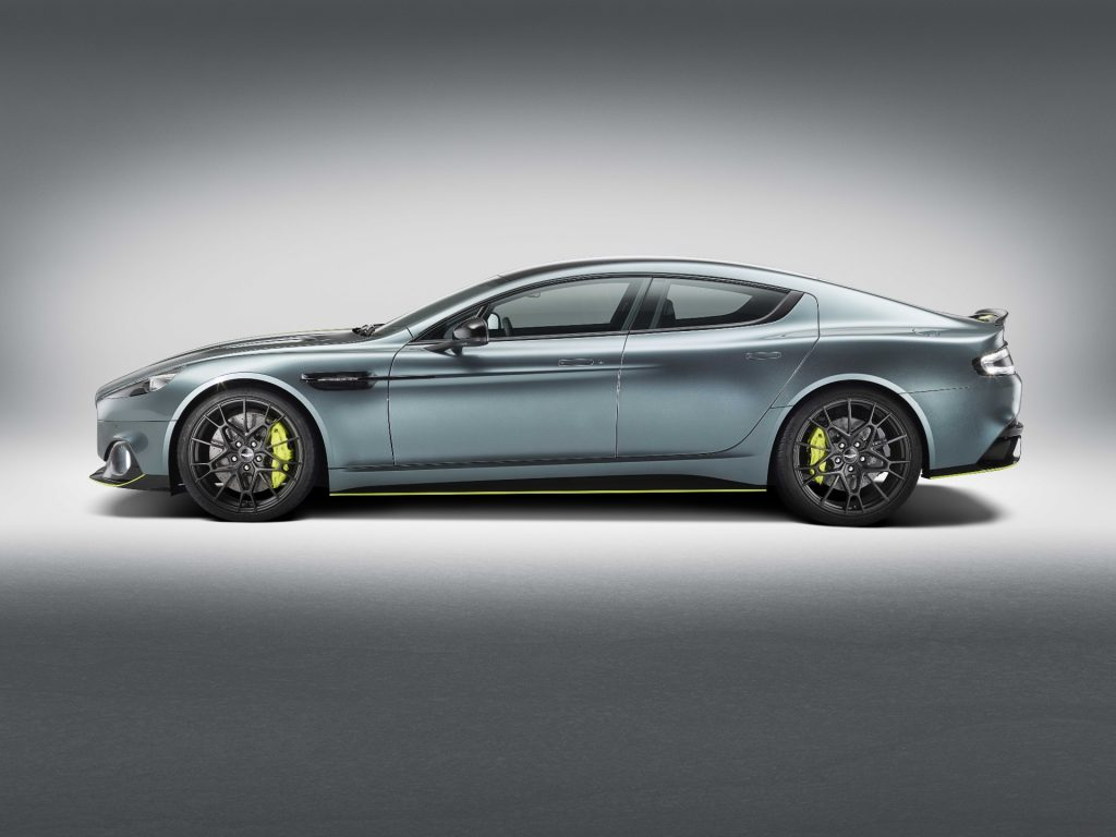 Aston Martin Rapide was not a success