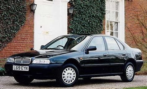 Spot the difference between the Rover 600 and Honda Accord