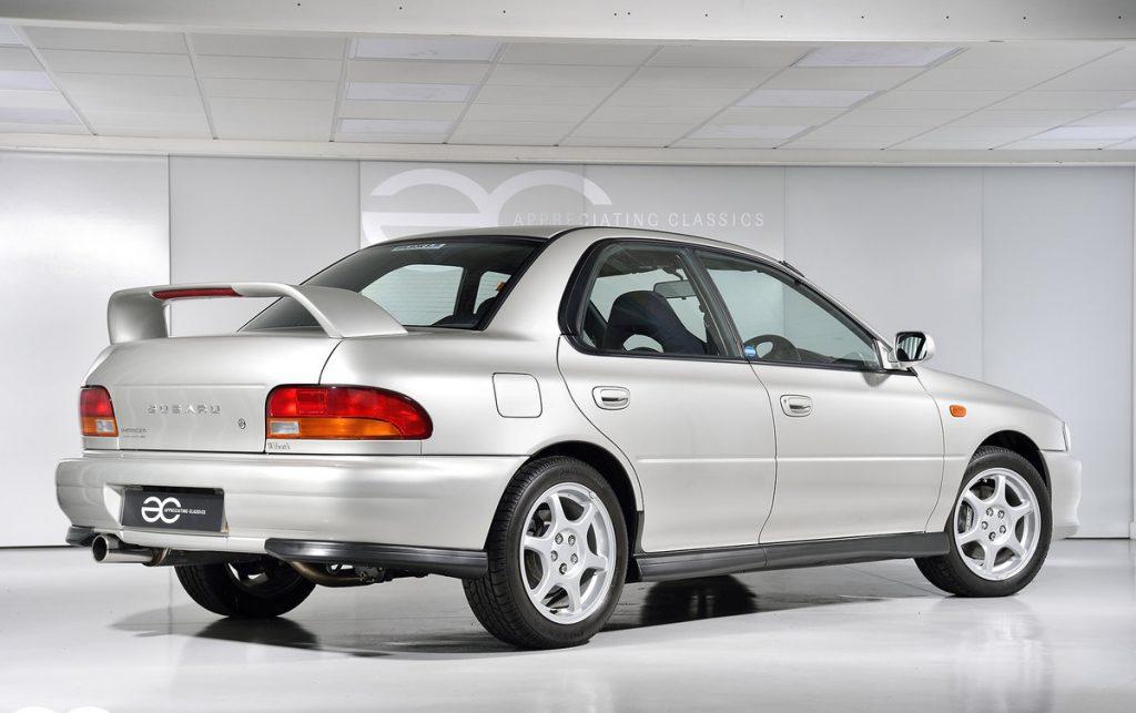 Subaru Impreza Turbo rear