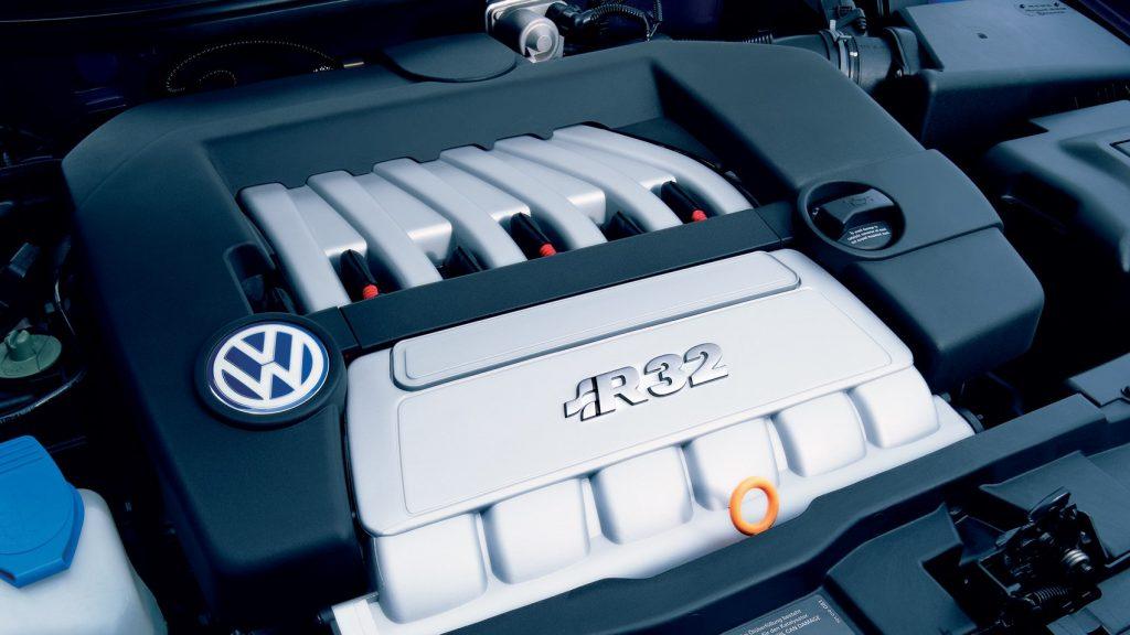 Volkswagen Golf R32 Mk1 engine