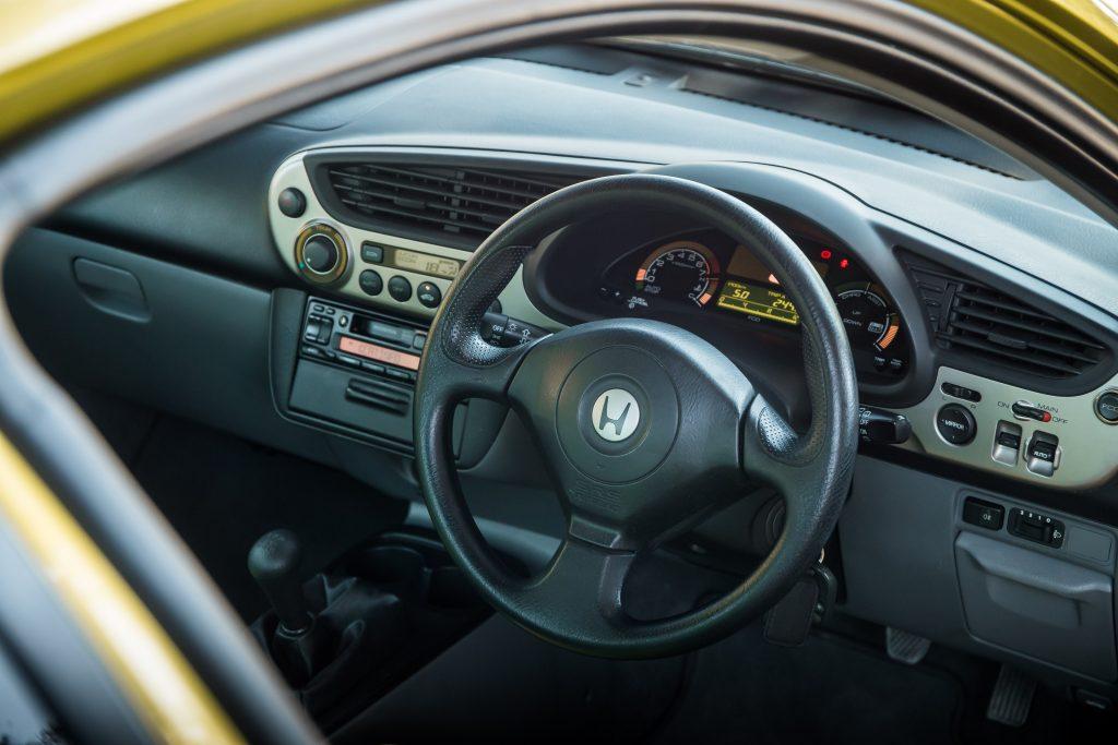 Honda Insight ZE1 interior
