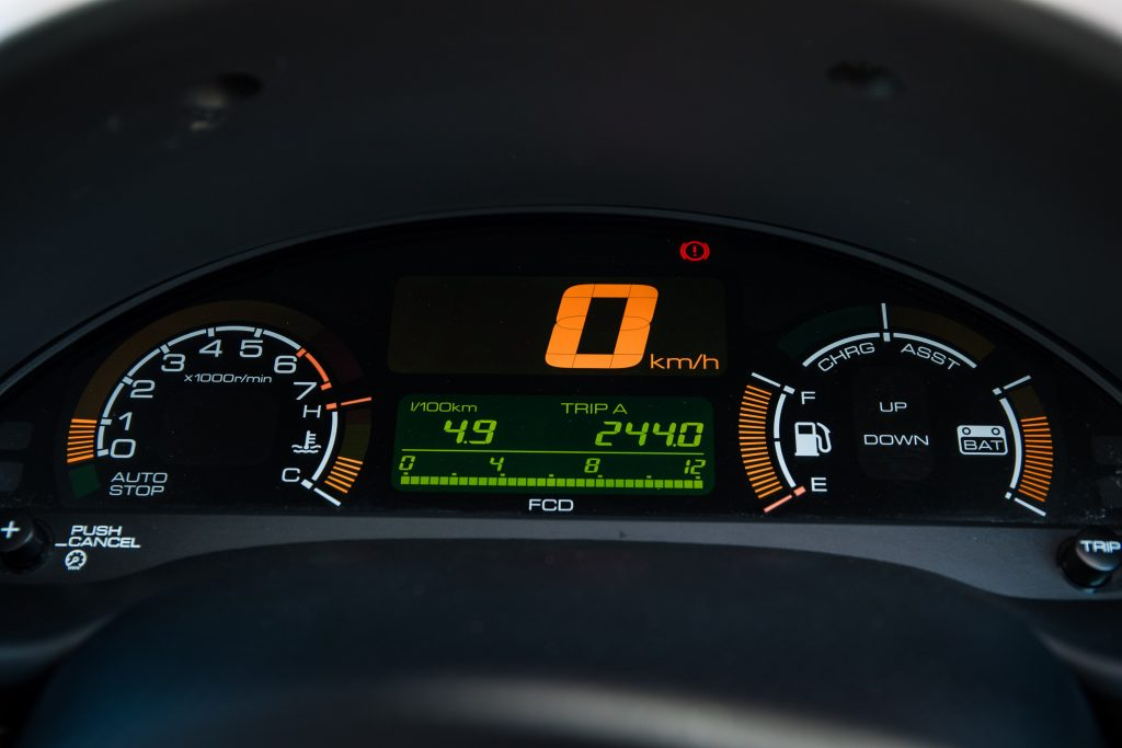 Honda Insight ZE1 instruments