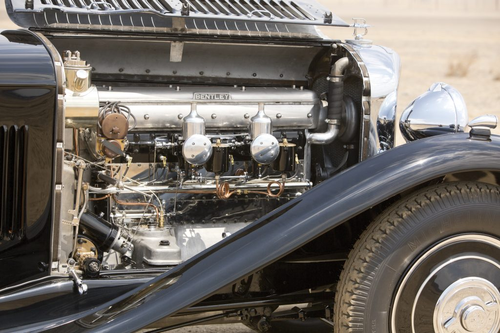 Bentley 8 Litre engine
