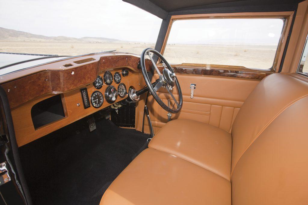 Bentley 8 Litre interior