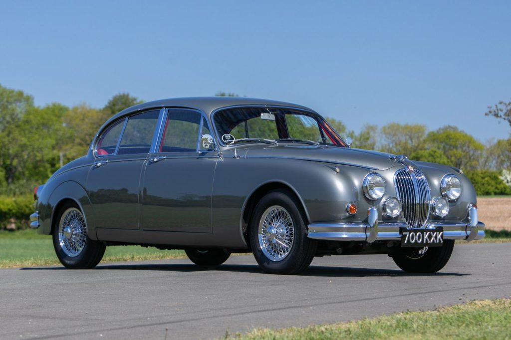 1961 Jaguar Mk II 3.8 sold for 34 per cent above the Hagerty Price Guide valuation