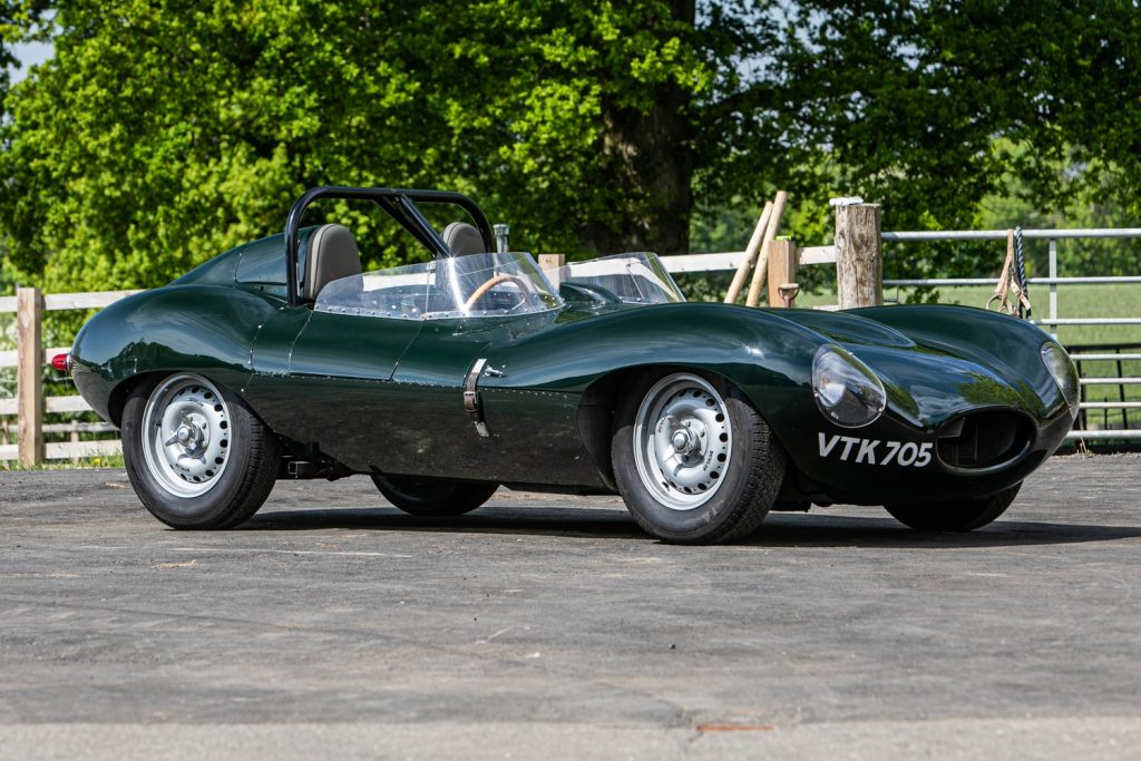 1962 Jaguar D-Type short-nose replica