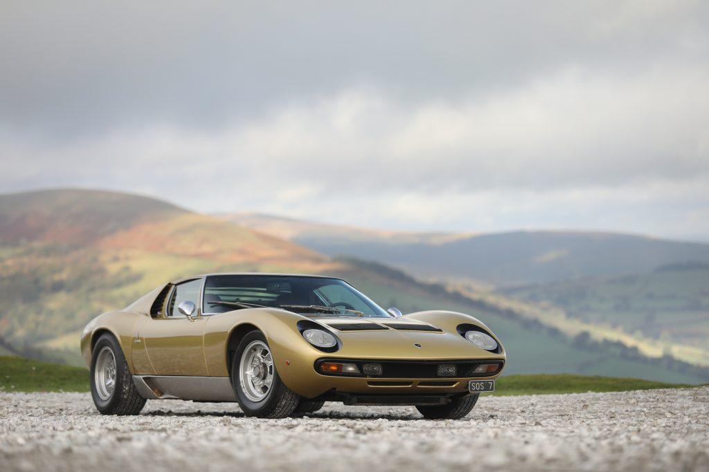 1971_Lamborghini_Miura_P400_SV_Speciale auction result