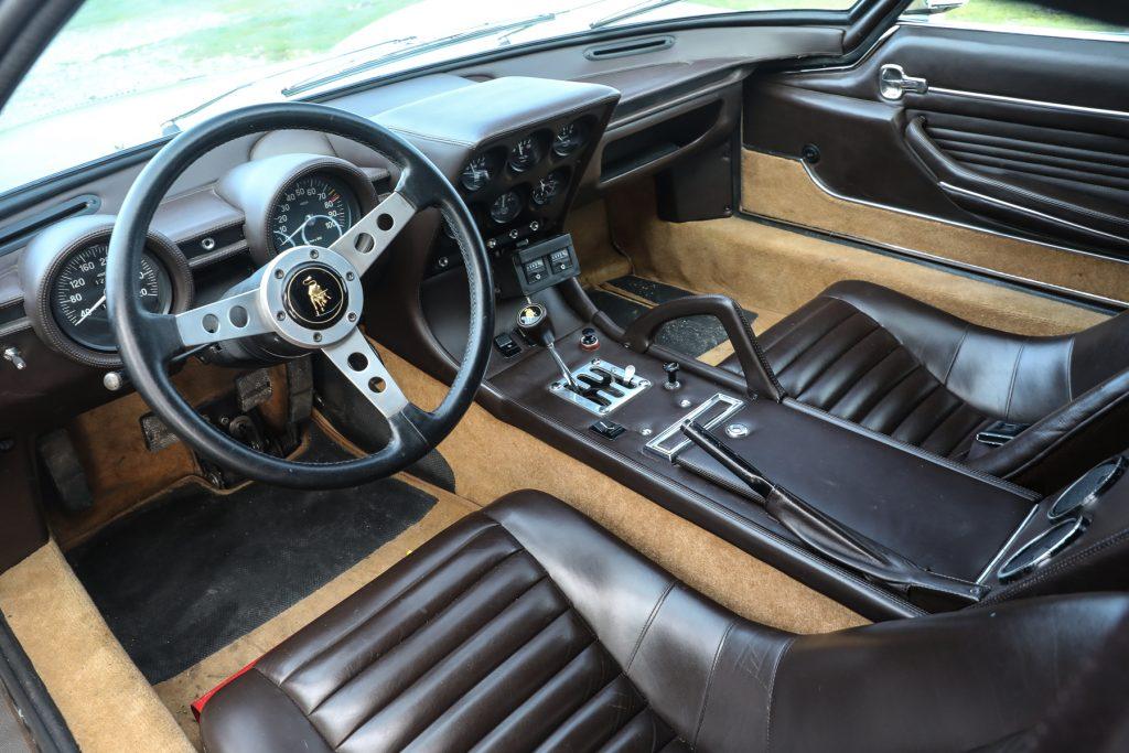 1971_Lamborghini_Miura_P400_SV_Speciale interior