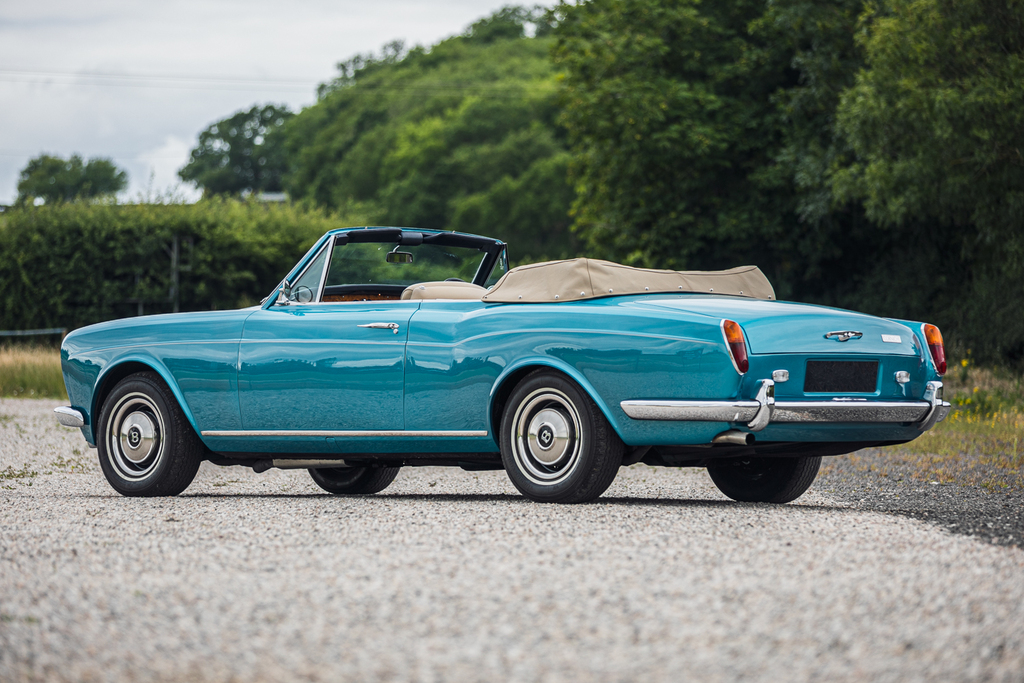 1972 Bentley Corniche sold for 155 per cent more than the Hagerty Price Guide