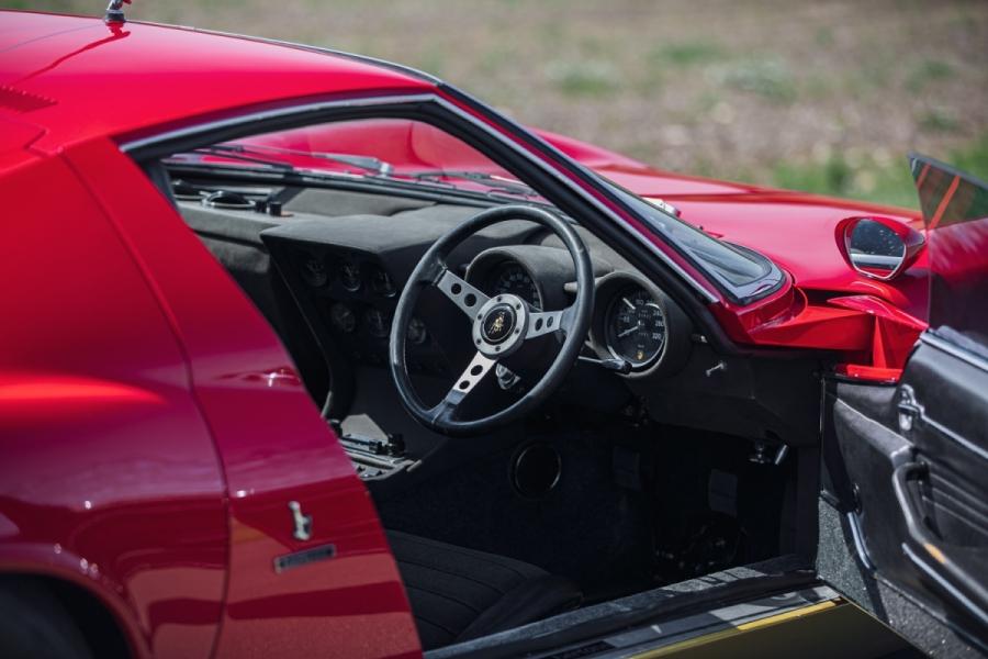 1972 Lamborghini Miura SV interior