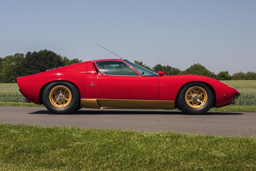 1972 Lamborghini Miura SV sold for 11 per cent over the Hagerty Price Guide