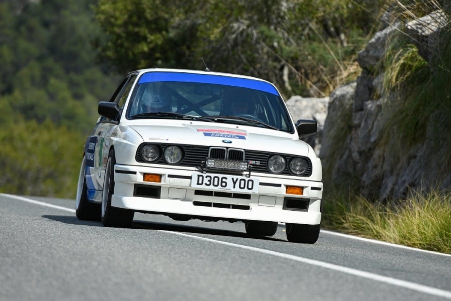 1987 E30 BMW M3 Competition Pack front