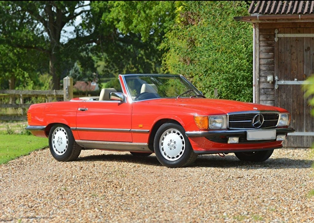 1989-Mercedes-300-SL sold for 146 per cent above the Hagerty Price Guide value