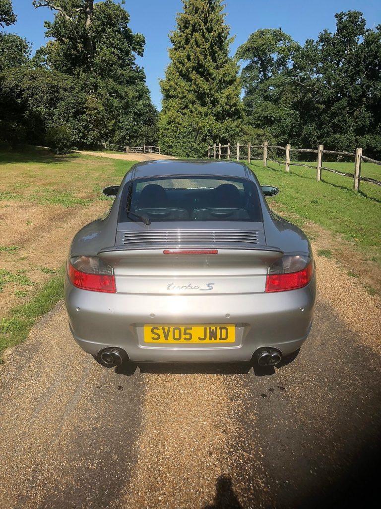 2005 Porsche 911 Turbo S rear
