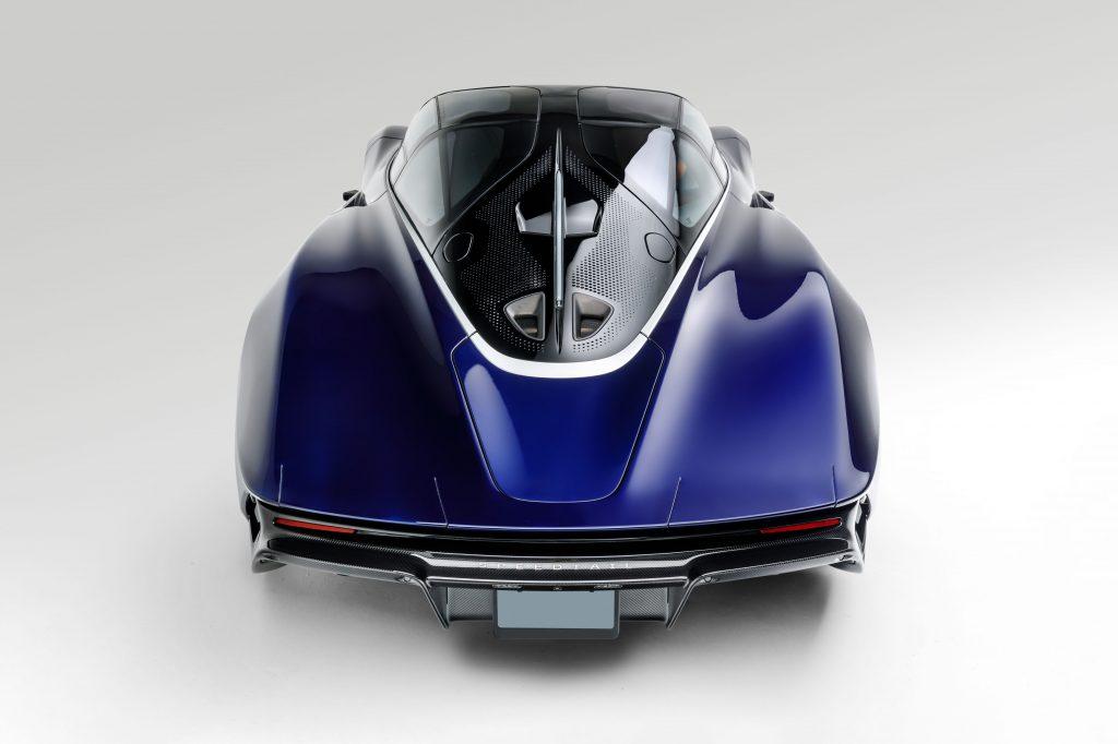 McLaren Speedtail is being flipped at auction
