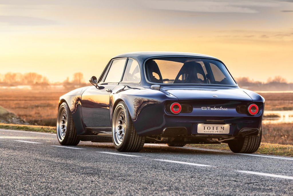 Totem Automobili Alfa Romeo GT electric car