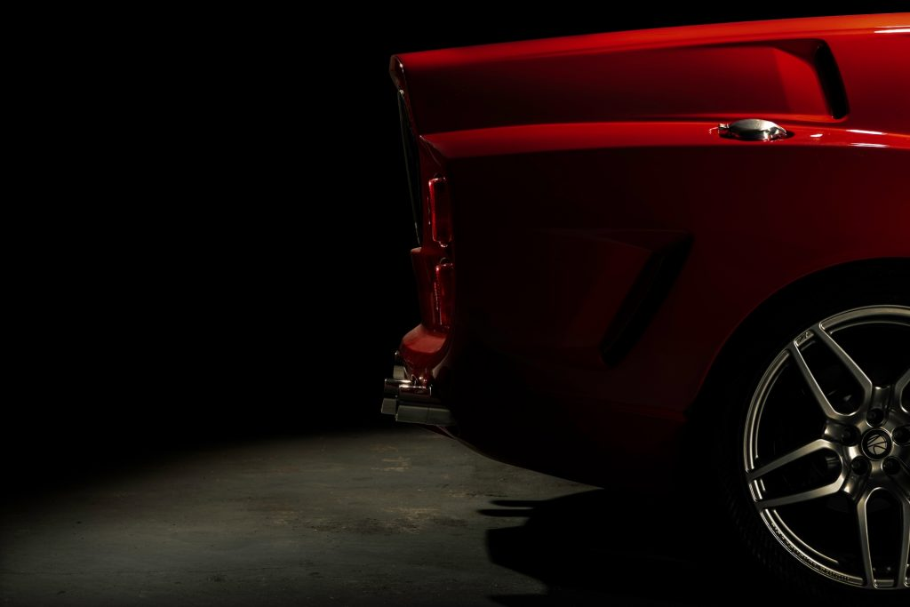 Ferrari Breadvan Hommage tail design