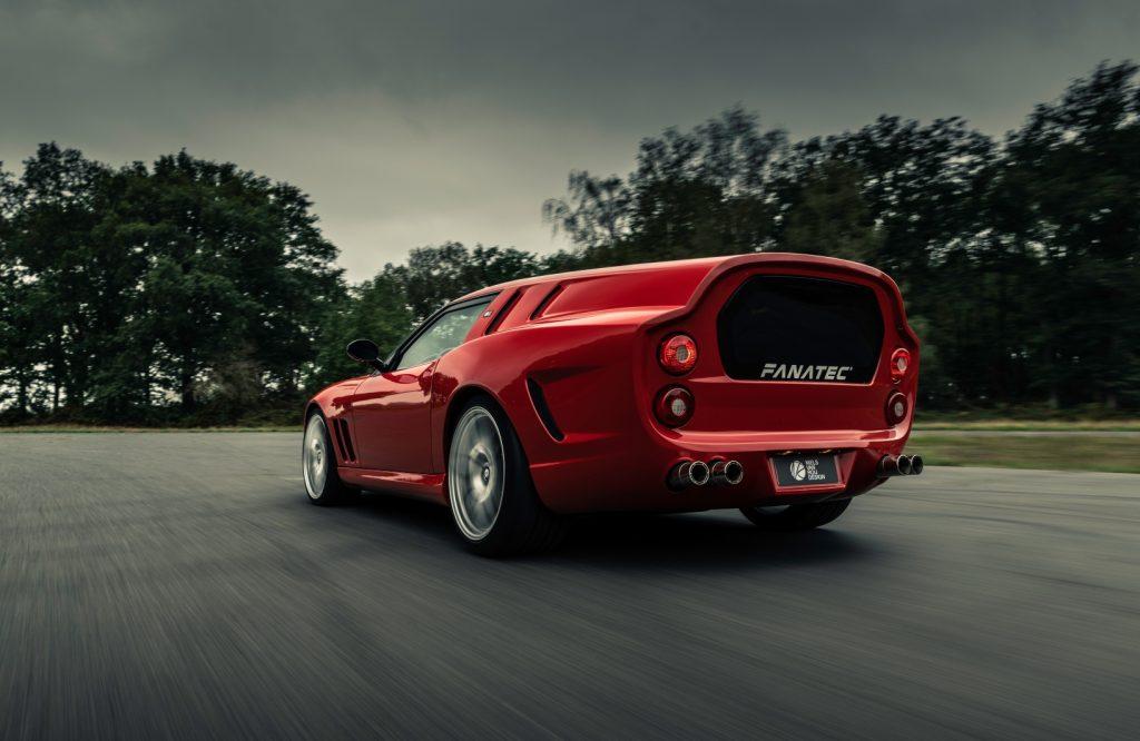Ferrari Breadvan Hommage complete picture gallery
