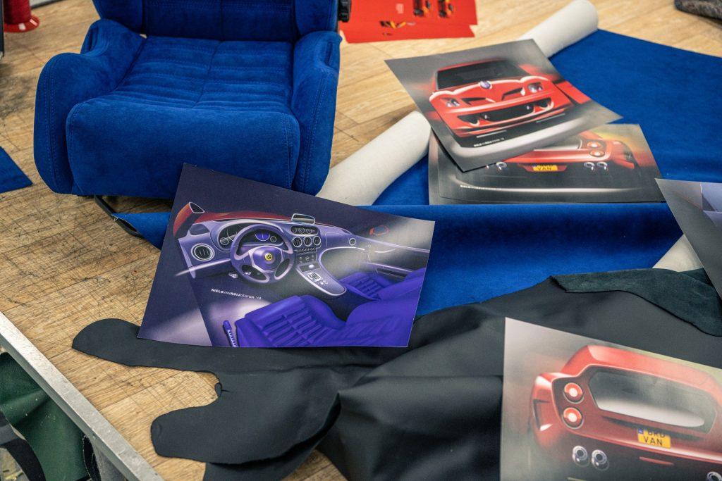 Ferrari Breadvan Hommage seats