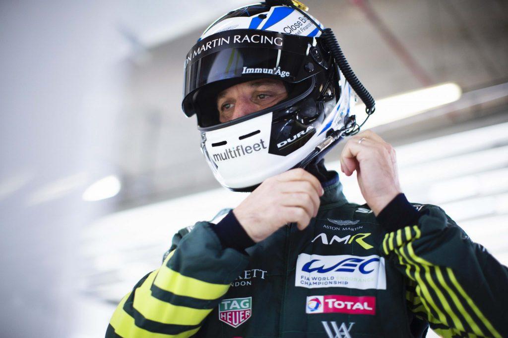 Darren Turned will drive Aston Martin Bulldog