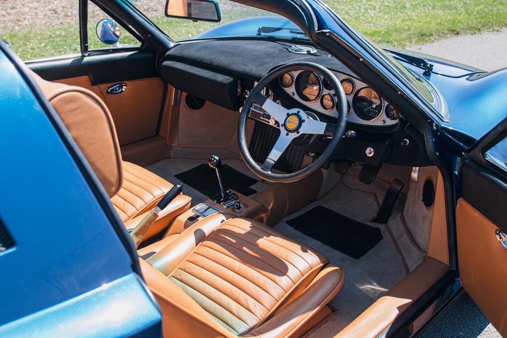 1973 Dino 246 GTS interior