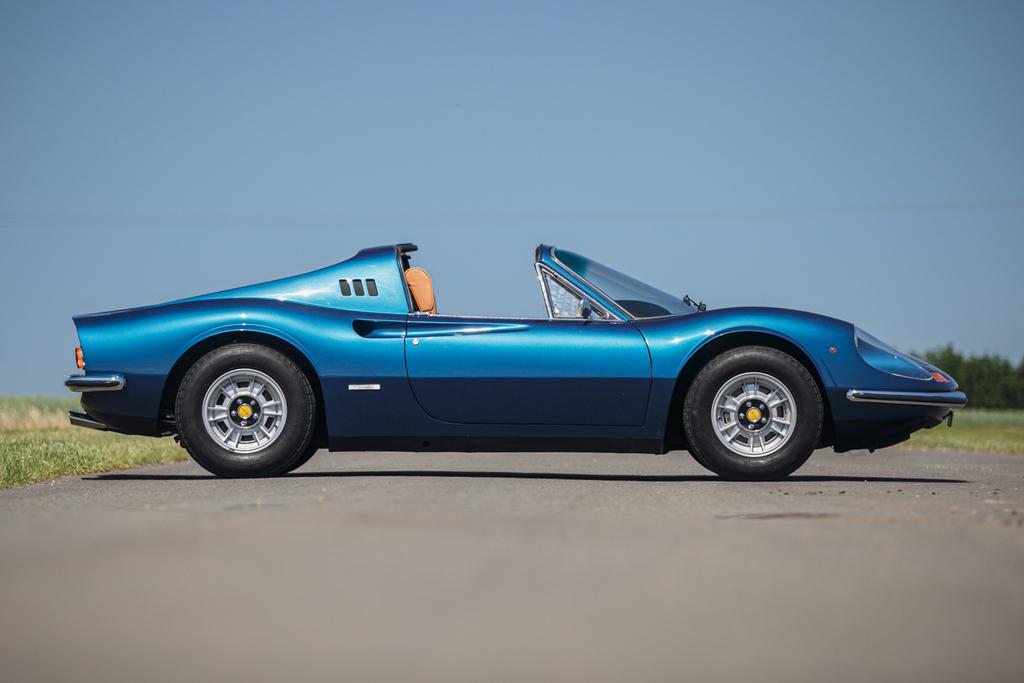1973 Dino 246 GTS profile
