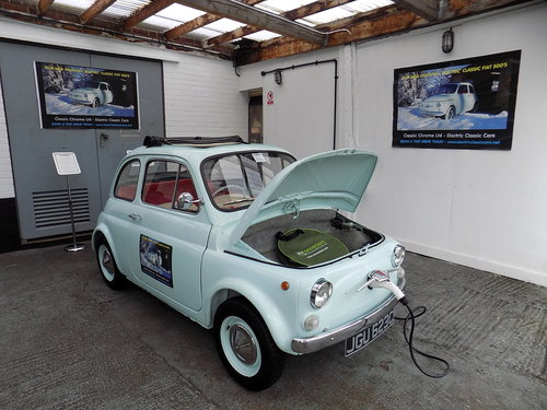 Electric Classic Cars Fiat 500