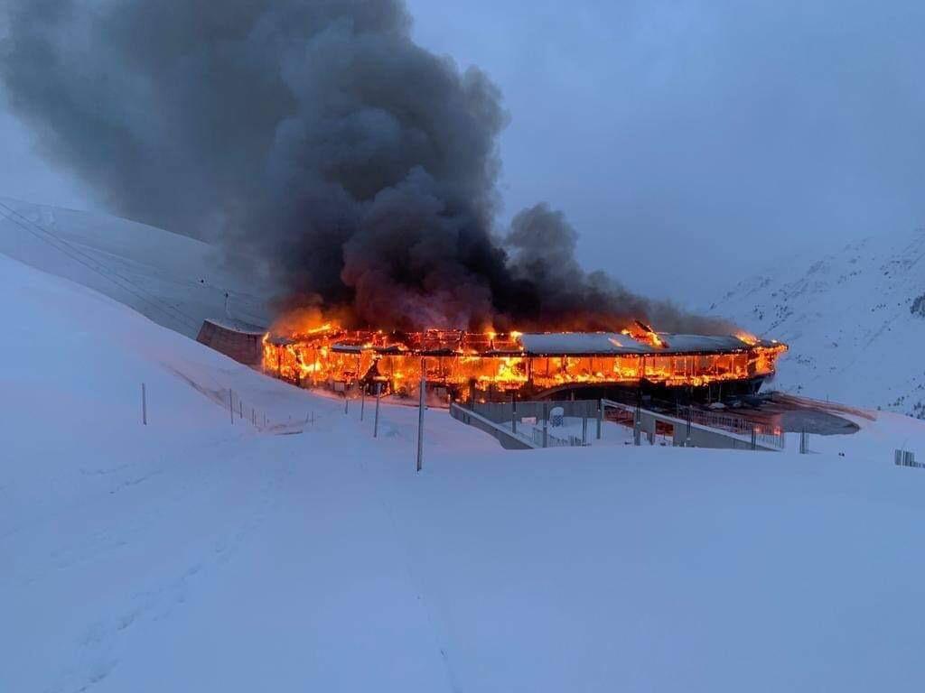 Fire destroys Austria's prized motorcycle museum