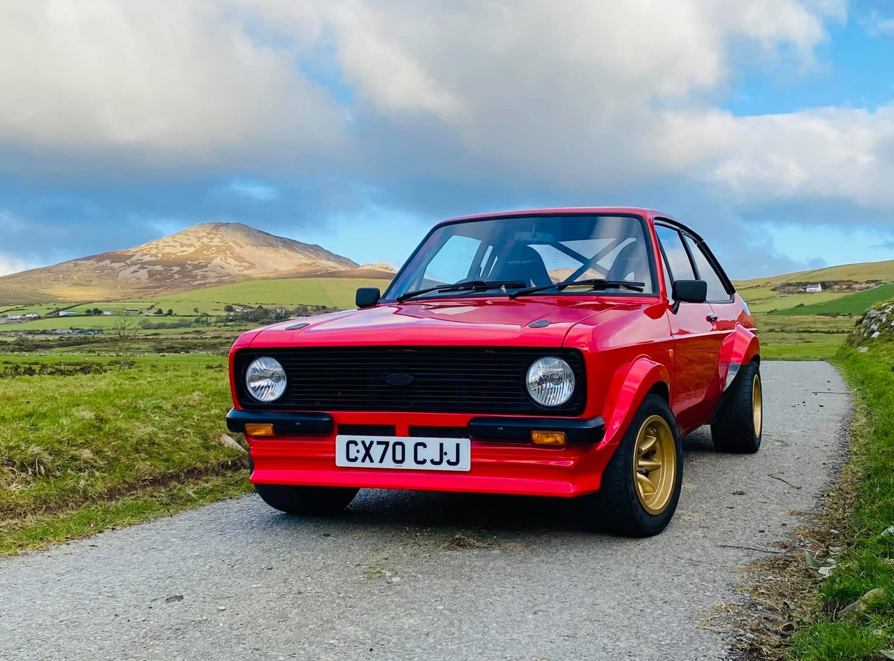 You can now order a new Ford Escort Mk2 road car