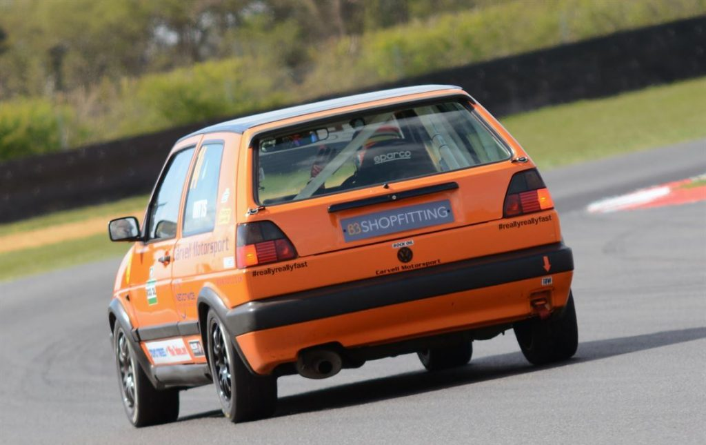 Volkswagen Golf GTI MkII production championship race car