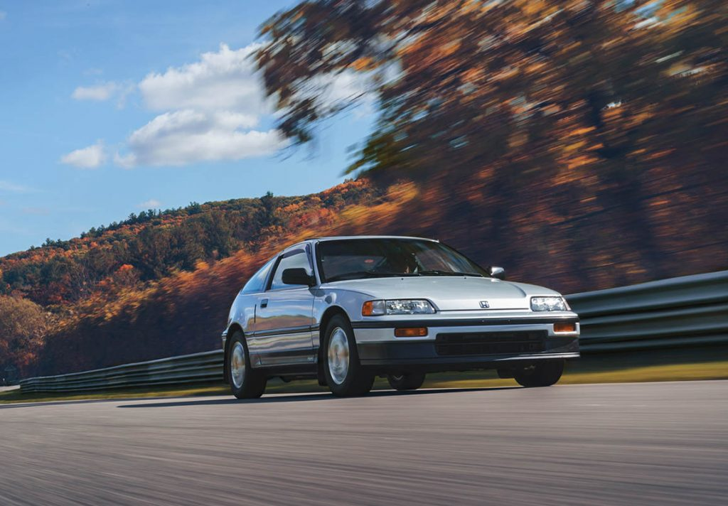 The CRX was the first Honda in Britain to feature VTEC