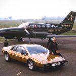 Colin Chapman with Lotus Esprit
