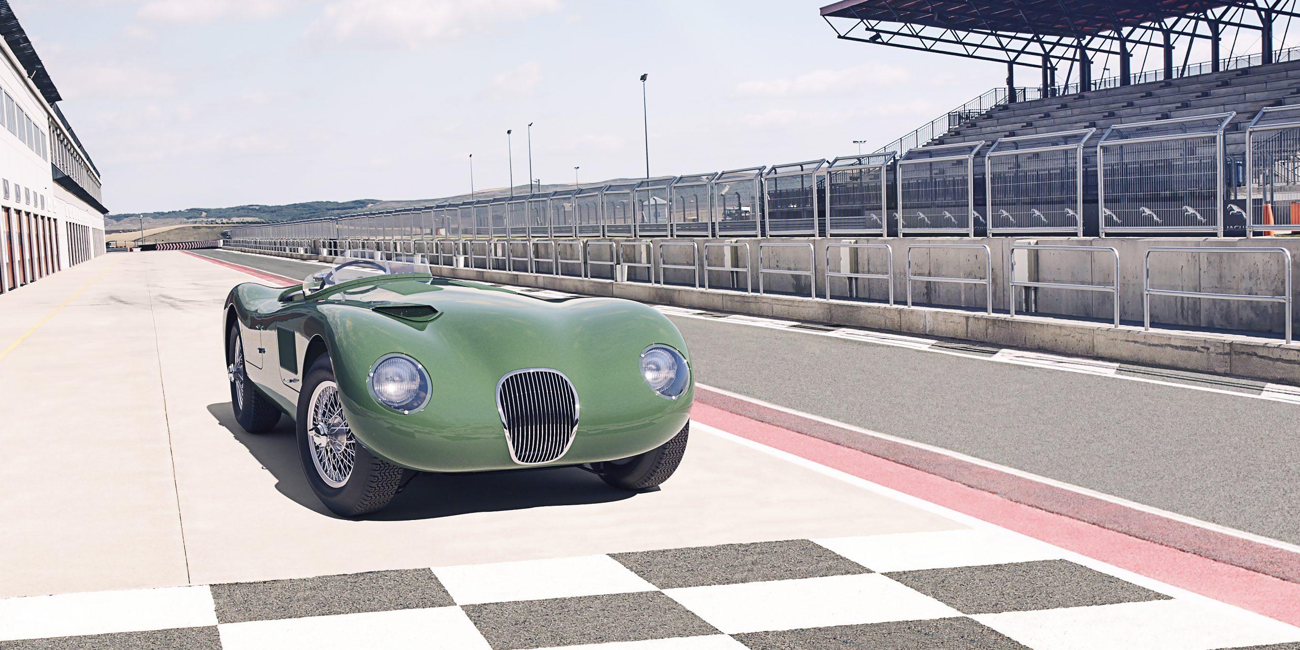 C is for Continuation: Jaguar remakes C-type Le Mans winner