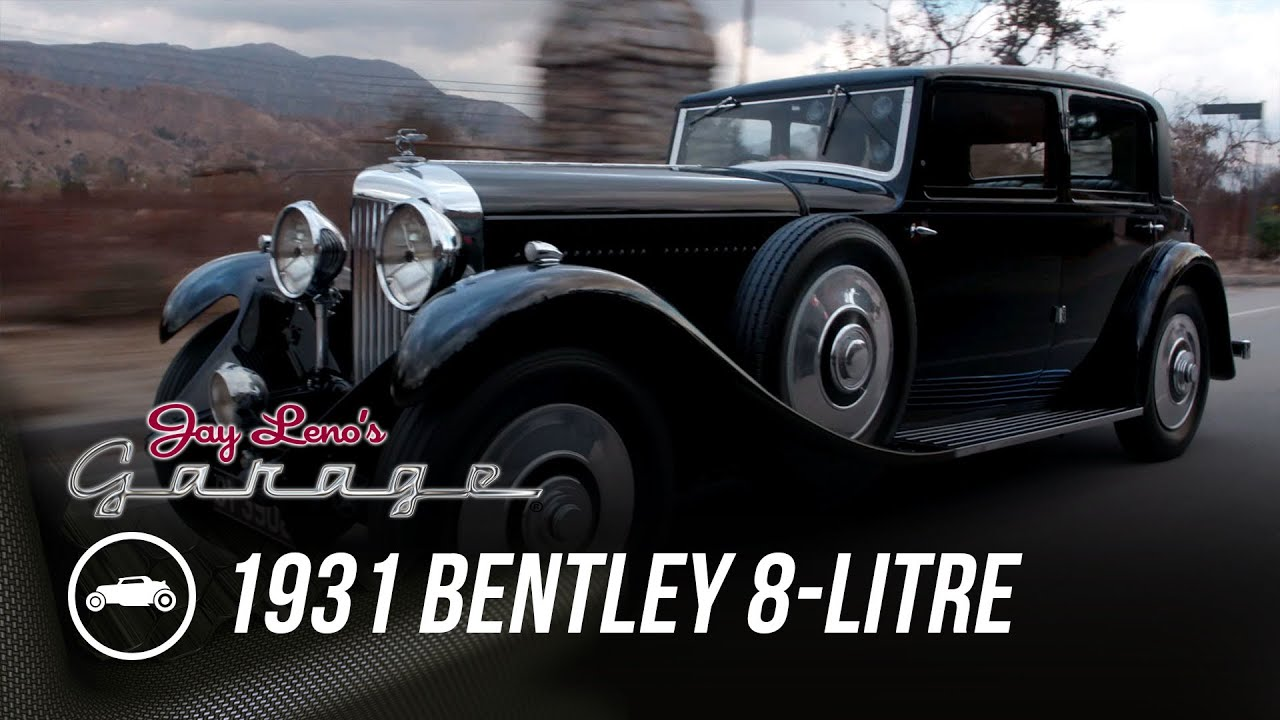 Take a tour of Jay Leno's 1931 Bentley 8 Litre Mulliner