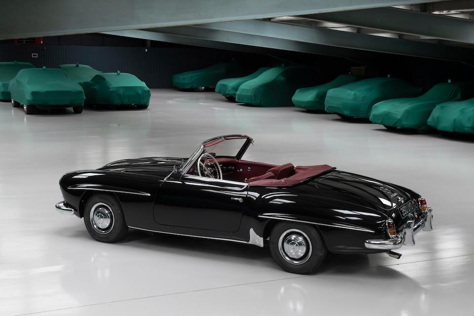 1960 Mercedes-Benz 190 SL Hardtop rear