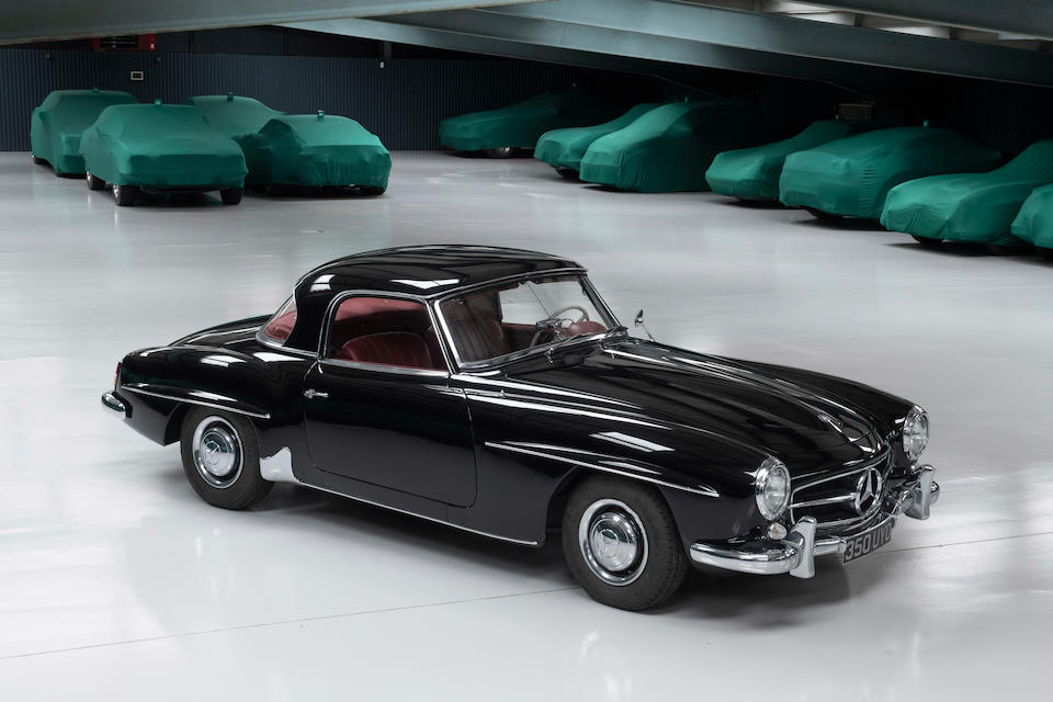 1960 Mercedes-Benz 190 SL Hardtop sold for 22 per cent over Hagerty Price Guide