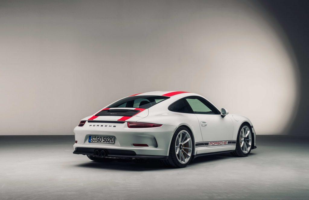 Porsche 911 R flipping supercars