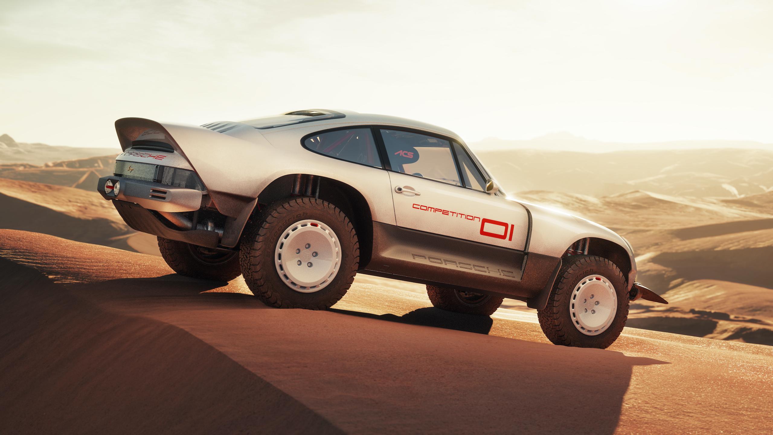 We can't stop staring at the Singer Paris-Dakar 911