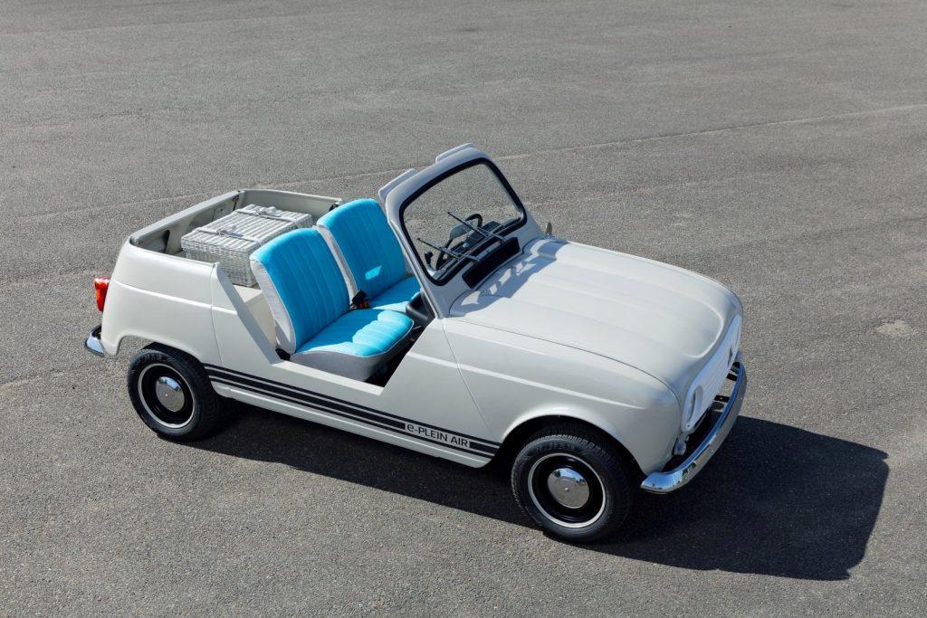 Renault 4-e-plein-air electric concept