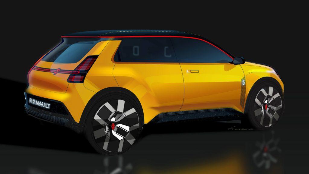 Renault 5 EV concept pictures