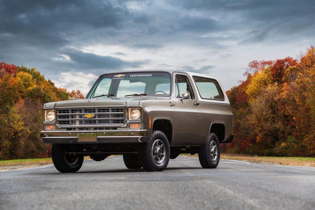 Chevrolet Blazer electric conversion